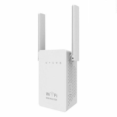 redtagtown Wi-Fi Range Repeater Dual Band Wireless Wi-Fi Extender Booster Wall Plug NETPULL™ Wi-Fi Range Repeater Pro