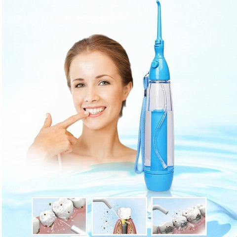 Water Flosser Teeth Jet Portable Irrigator Oral Cordless No Batteries
