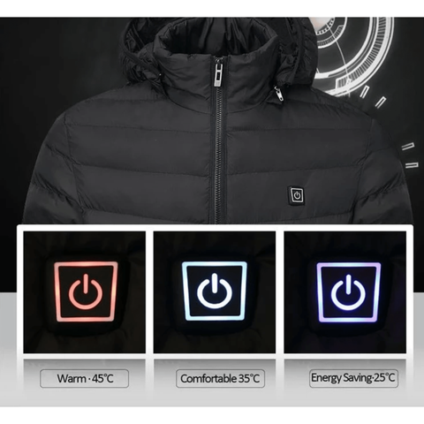 Staulino New Paky™ Unisex PRO Heated Jacket + Free Power Bank (1)