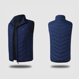 Staulino Paky™ PRO Heated Vest 4 Panel S / Blue Paky™ Unisex PRO Heated Vest + Free Power Bank
