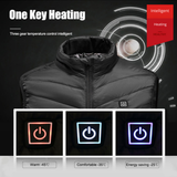 Staulino Paky™ PRO Heated Vest 4 Panel Paky™ Unisex PRO Heated Vest + Free Power Bank