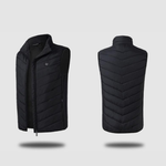 Staulino Paky™ PRO Heated Vest S / Black Paky™ Unisex PRO Heated Vest + Free Power Bank Test