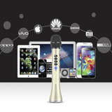 Staulino Professional Bluetooth Wireless Karaoke Microphone Professional Bluetooth Wireless Karaoke Microphone Speaker