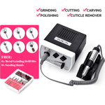 Staulino Nail Drill Machine Professional Nail File Drill Machine