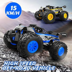Staulino 200001410 RC Car 2.4G 1/18 Monster Truck Car Remote Control Toys Controller Model Off-Road Vehicle Truck 15KM/H Radio Control Car toy cars