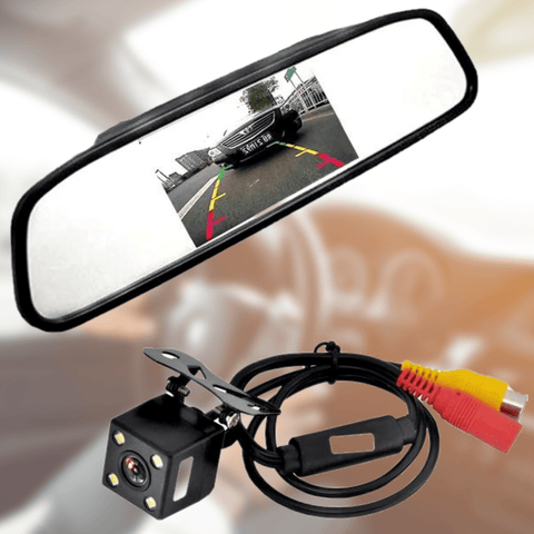 "Rear View Mirror Camera 4.3"" Back Up Car Reverse Parking"