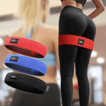 Resistance Band Hip Workout Exercise Train Yoga Pilates