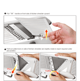 Adjustable Mandoline Professional Grater Slicer Shredder Vegetable
