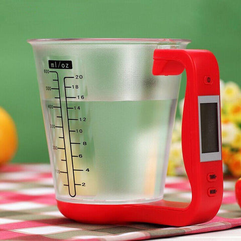 Smart Digital Measuring Cup Kitchen LCD Display Electronic