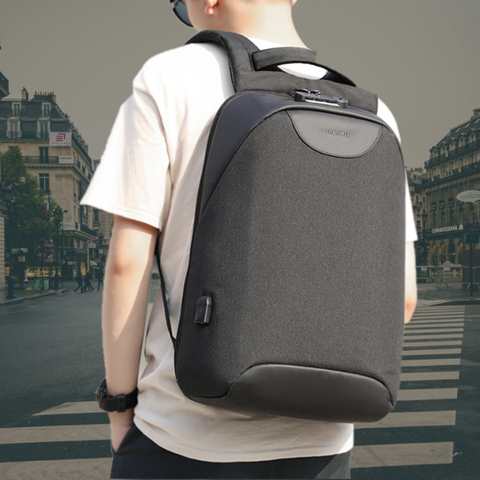 Staulino The Anti-Theft Backpack Dark Grey The Ultimate Anti-Theft Backpack