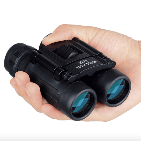 Compact Binoculars Mini Long Range Foldable HD Camping Hunting