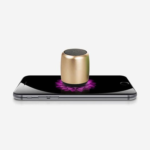 Staulino Pocket Sized Bluetooth Speaker Gold The Pocket Sized Bluetooth Speaker
