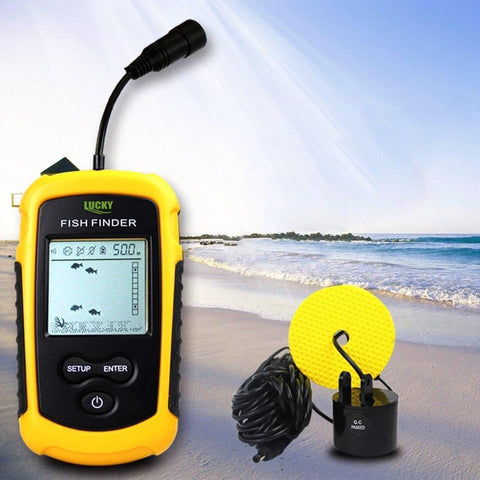 Portable Fish Finder GPS Depth Sonar Boat