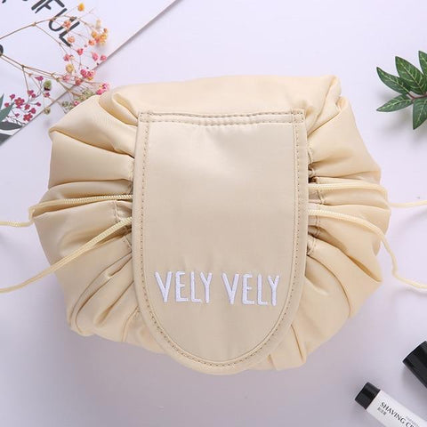 Staulino Cosmetic Bags & Cases Beige Vely Vely Cosmetics Bag