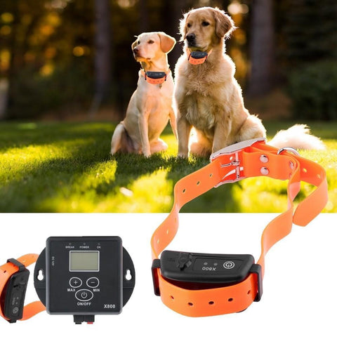 Wireless Dog Fence With Training Collar Shock