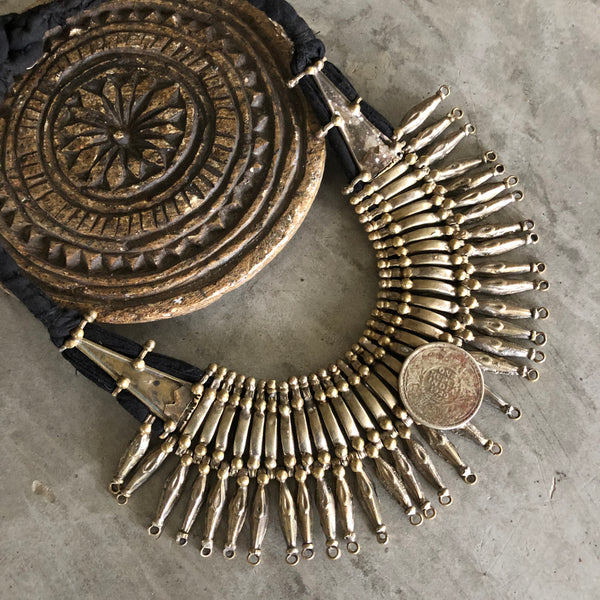 Vintage Tharu spike necklace