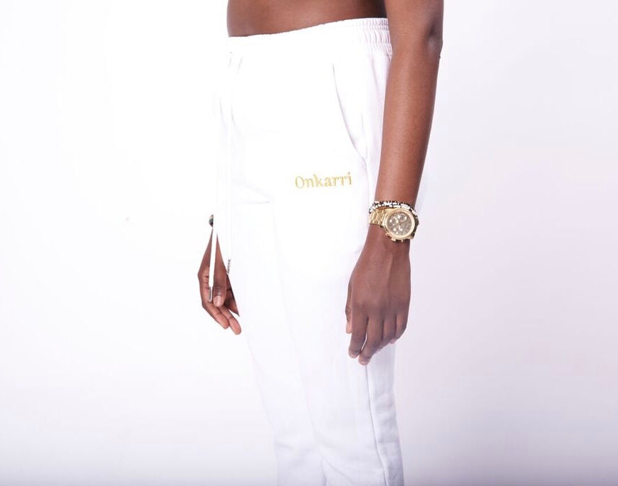 Athena Golden Track Pants