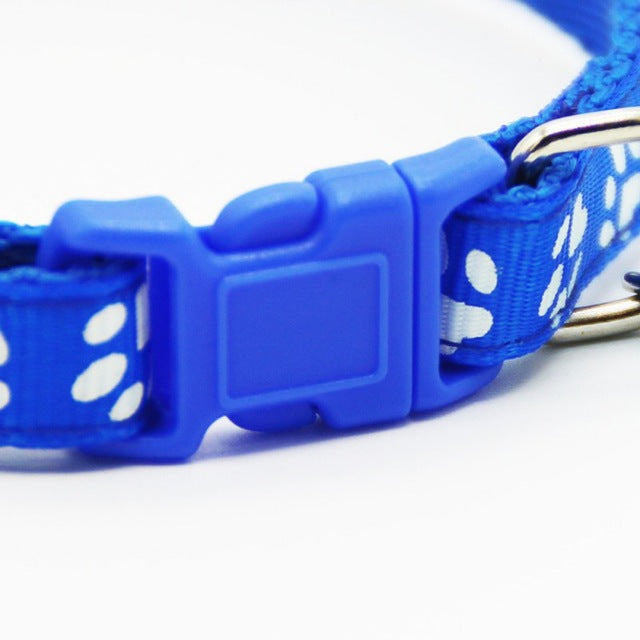 Adjustable Nylon Pet Cat Dog Collars With Bell