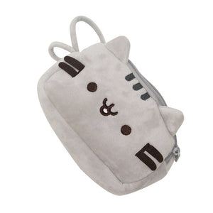 Cat Pencil Case Cute Plush Pen Bag Makeup Pouch