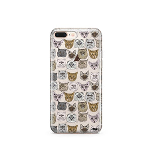 Cat Overload 2 - Clear TPU Case Cover