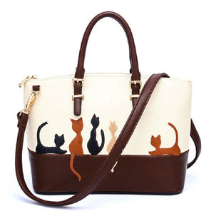 Famous brand Women Messenger Bags cute mini Cat