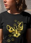 Paws Cat  Women T-shirt