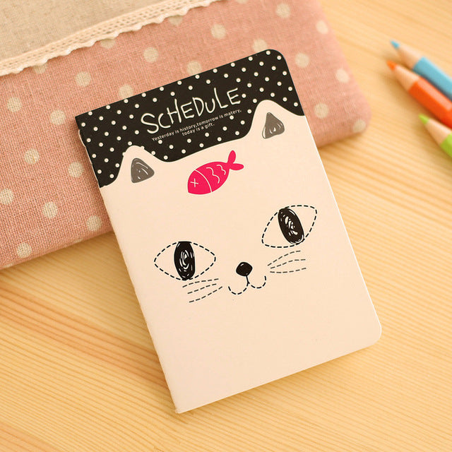 Portable Cute Stationery Notebook Cartoon Lovely