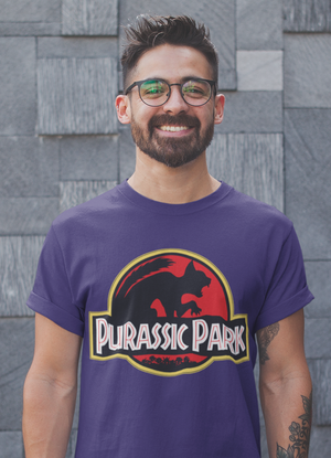 Purassic Park Shirt Cat Lover Funny Kitty Kitten
