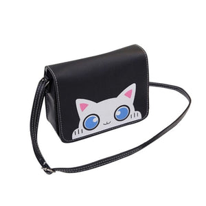 Women Messenger Bags Vintage Cat Pattern