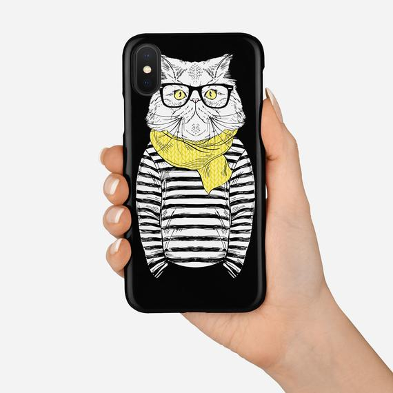 iPhone XS Max Case Cat Lover Gift Cat Gifts