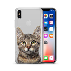 Cat' - Clear Case Cover