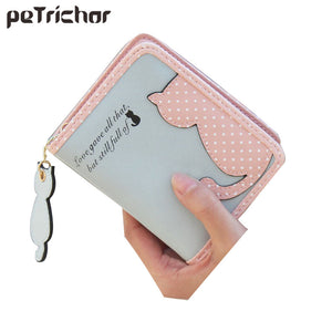 Fashion Small Wallet Women Short Luxury Brand