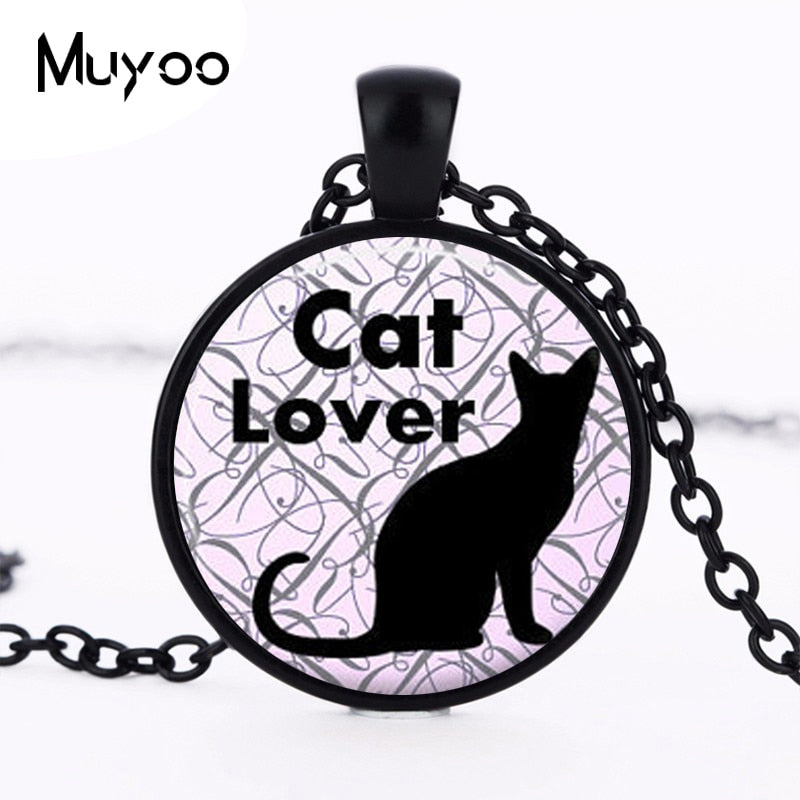 Hot Cute Cat Necklace Cat Lover Necklace Kitty Cat Jewelry