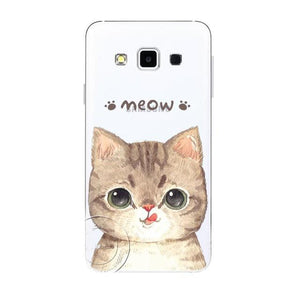 My Chubby Cat Clear Phone Case