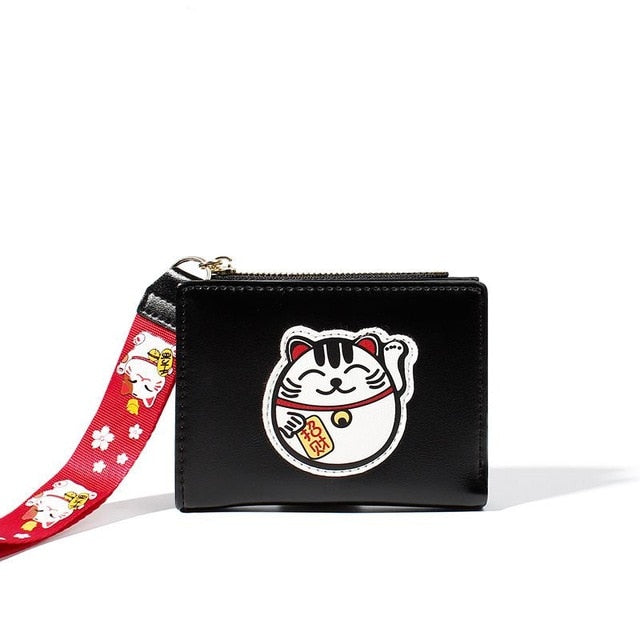 Unishow Embroidered Lucky Cat Wallet