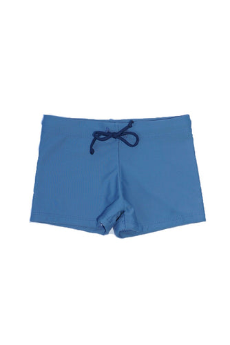 Boy's Dante Swim Trunks - Dusty Blue