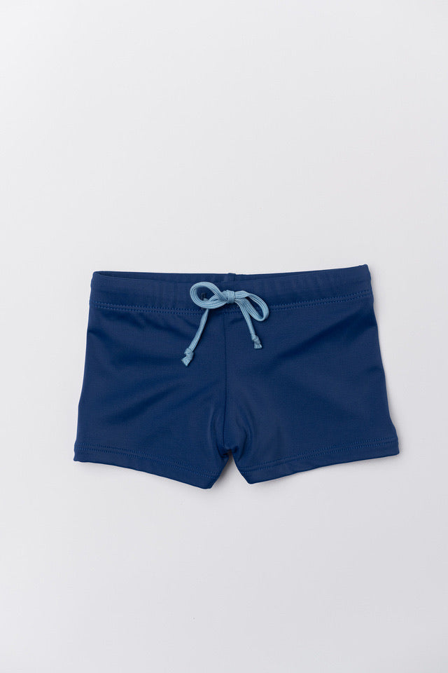 Boy's Dante Swim Trunks - Navy