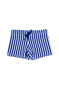 Boy's Dante Swim Trunks - Navy Stripe