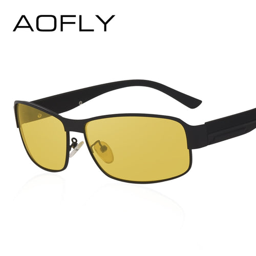 a936d1f03c9 AOFLY Night Vision Glasses Brand Design Polarized Sunglasses Women Men  Driving Anti-Glare Goggles AF8045