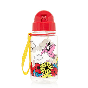 Zip and Zoe by Babymel drinking bottle with straw floral brights | water bottle | kids water bottle | BPA free bottle