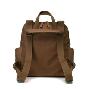 Robyn Convertible Backpack Vegan Leather Tan