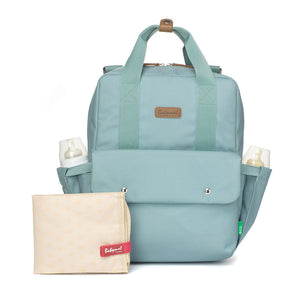 Georgi eco Convertible Backpack Aqua