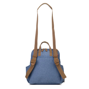Robyn Convertible Backpack Mid Blue