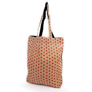 Foldable Shopper Navy