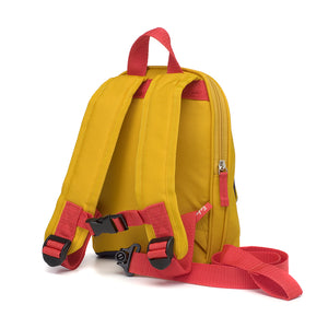Mini Backpack Mustard Colourblock