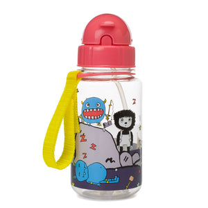 Zip and Zoe by Babymel drinking bottle with straw monster | water bottle | kids water bottle | BPA free bottle