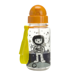 Zip and Zoe by Babymel drinking bottle with straw spaceman | water bottle | kids water bottle | BPA free bottle