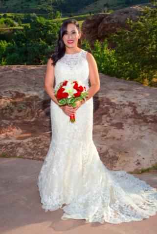 """Looking effortlessly radiant on your wedding day is what most brides desire. Rhoda Johnson made this dream a reality, providing stunning make-up ..."