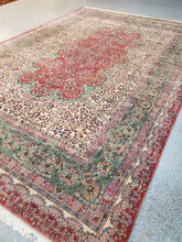 Load image into Gallery viewer, Crown Kerman  Rare, Antique Carpet