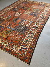 Load image into Gallery viewer, Persian Bahktiari Rug  Antique Rug Circa 1930s
